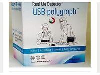 USB polygraph machine unused