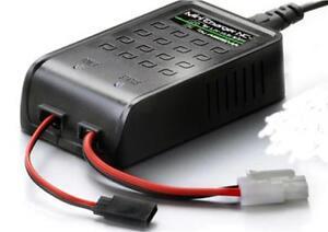 ABSIMA NC-1 UK Plug 7.2v upto 10.8v Mini Charger Tamiya JR/Futaba Battery Pack
