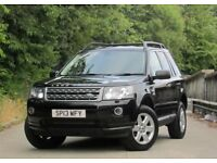 2013 LAND ROVER FREELANDER 2 GS SD4 2.2 AUTOMATIC BLACK HIGH SPEC 4X4 FULL M.O.T AND HISTORY