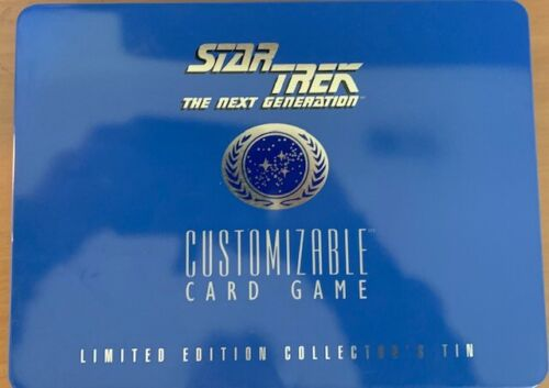 1995 Decipher Star Trek the Next Generation 363 Card Set in a Tin Free Shipping