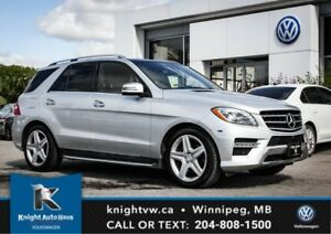 2015 Mercedes-Benz M-Class ML 350 BlueTEC w/ AMG Pkg/Drive Assis