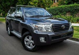 2013 Toyota Landcruiser VDJ200R MY12 Altitude Grey 6 Speed Sports Automatic Wagon Medindie Walkerville Area Preview