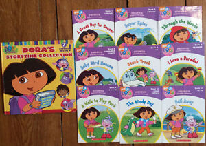 DORA THE EXPLORER Phonics Books for beginner readers 10 for $10