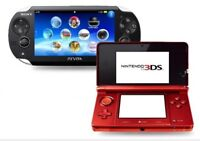 Looking for 3ds or ps vita URGENT for 100$