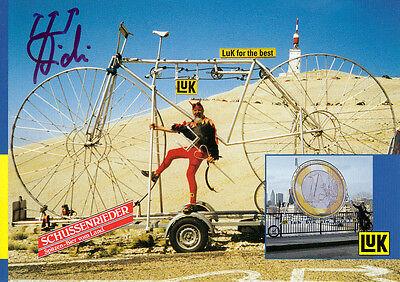 Didi Senft, El Diablo,Didi the Devil Tour de France Teufel orig.signiert/signed