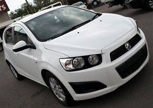 2016 Holden Barina TM MY16 CD White 6 Speed Automatic Hatchback Caboolture Caboolture Area Preview