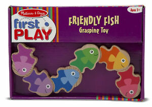 Brand New - Melissa & Doug First Play Friendly Fish Grasping Toy