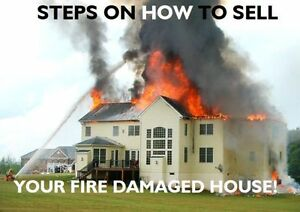 **4 EASY STEPS TO SELL YOUR FIRE DAMAGED HOUSE**
