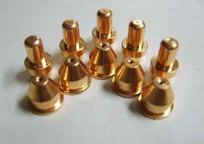 40 Amp 10pc Pipe Tip Set For Eastwood Versa Cut 40 Plasma Cutter Cb50 Torch