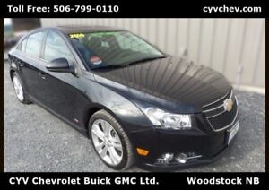 2014 Chevrolet Cruze 2LT - 0.9% - RS Package with Sunroof, 18 Al