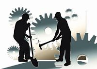 2 reliable students seek manual labor, work, travail general