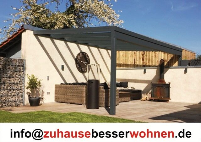alu terrassendach carport aluminium terrassen berdachung. Black Bedroom Furniture Sets. Home Design Ideas