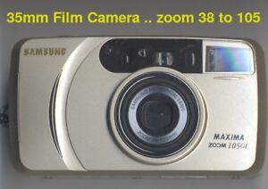 35mm Film Camera autofocus 38-105 zoom Samsung Maxima