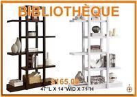 Bibliotheque/Etagere a partir de $95/ Bookcases starting at $95