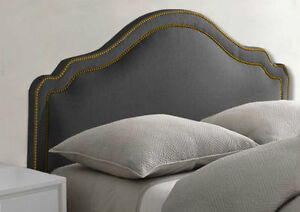 NEW UPHOLSTERED FABRIC HEADBOARD - SALE 30% OFF