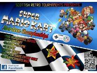 Super Mario Kart - Aberdeen Championships. Nintendo Retro