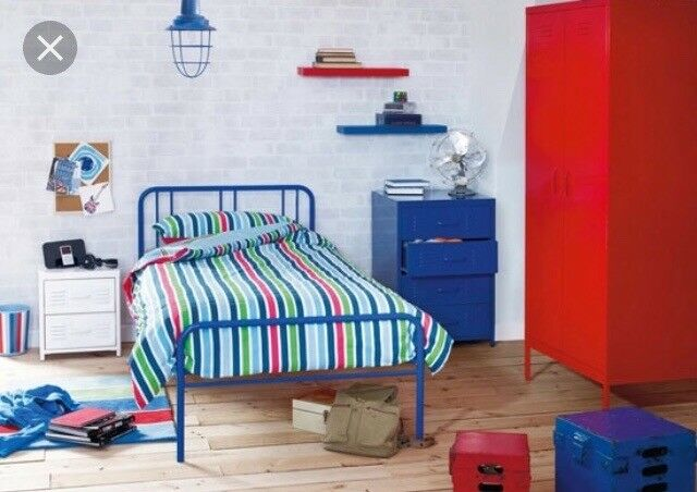 Boys 3 Piece Locker Bedroom Furniture Set From Next!