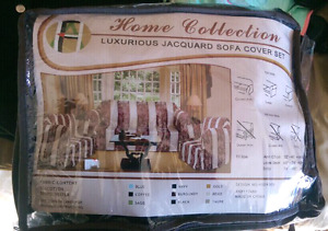 Jacquard Sofa Cover Set