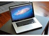 Apple MacBook Pro 15 inch 2.4 Ghz 4gb Ram 500 HD Logic Pro 9 & Pro X, Adobe, Final Cut Pro