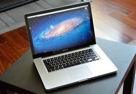 Apple MacBook Pro 15 inch 2.4 Ghz 4gb Ram 750 HD Logic Pro 9 & Pro X, Adobe, Final Cut Pro