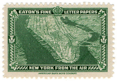 (I.B) US Cinderella : Eaton's Fine Letter Papers (New York from The Air)