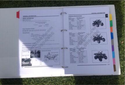 Polaris Predator 50 Service Manual