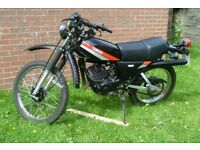 1980 Yamaha DT DT125MX 3000 miles from new as new.