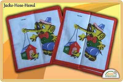 Kindertaschentücher Taschentücher Motiv Elefant Vogel Vogelhaus 12er Pack NEU