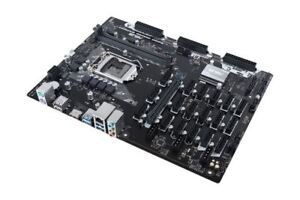ASUS B250 MINING EXPERT CRYPTOCURRENCY MINING BOARD 19 PCIE SLOT