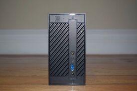 Asrock Deskmini,G4600, 2x4GB Ram, 275GB SSD
