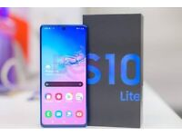 SAMSUNG S10 LITE BRAND NEW BOX OPEN ON ALL SIMS AND SAMSUNG WARRANTY