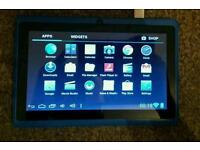 """7"""" kids android tablet blue"""