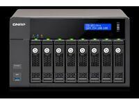 QNAP TS 853-Pro - 8GB RAM, 8 Bay professional NAS, Quad Core, 4 x Gigabit Ethernet, Quad Core Intel