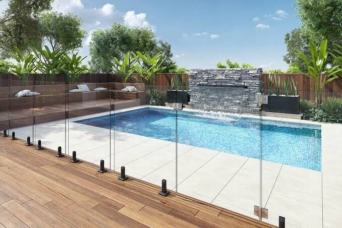 Black Stainless Steel Glass Pool Fence Chisel Spigots Mini Posts Building Materials Gumtree Australia Bassendean Area Bassendean 1207847845
