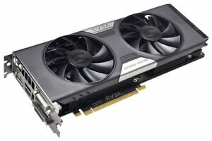 EVGA GTX 780 SC 3GB Video Card.