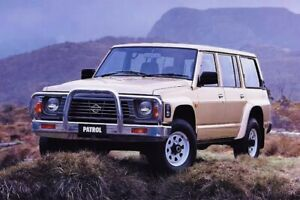 Wanted: WANTED. PATROL/LANDCRUISER FOR WRECKING