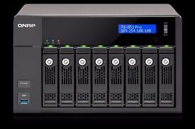 QNAP 8-Bay Professional NAS with 8GB RAM