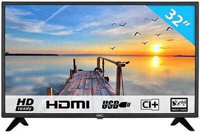 HKC 32F1D LED TV (32 pollici HD TV), CI+, HDMI+USB, Triple Tuner, 60Hz, Mediapla