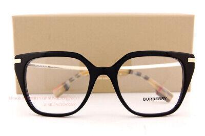 Brand New BURBERRY Eyeglass Frames BE 2310 3757 Black For Women Size (Burberry Eyeglass Frames For Women)