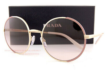 Brand New Prada Sunglasses PR 59XS 07B 4K0  Pink Gold/Brown Gradient For Women