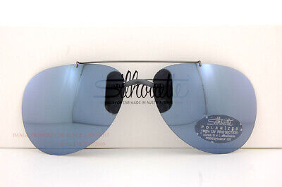 New Silhouette Eyeglasses Clip-on Style Shades A3 01 GRAY POLARIZED SZ (Silhouette Clip On Sunglasses)