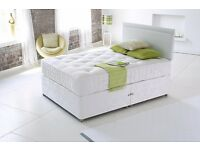 Divan Base in Double/Small Double Luxury Memory Orthopaedic Bed - Free Delivery