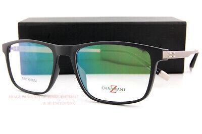 Brand New CHARMANT Eyeglass Frames Z-Titanium ZT 19854N BK B