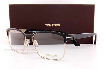 Brand New Tom Ford Eyeglass Frames 5323 002 BLACK/GOLD  Size 54mm Men Women