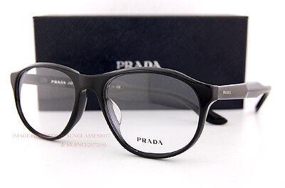 Brand New Prada Eyeglass Frames PR 12SV 1AB Black For Men Size (Prada Frames For Men)