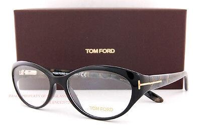 New Tom Ford Eyeglasses Frames 5244 001 black for (Tom Ford Glasses For Women)
