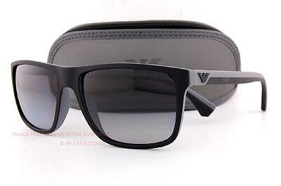 067a1f0287c9 Brand New EMPORIO ARMANI Sunglasses 4033 5229 T3 BLACK GREY GRADIENT GRAY  Men