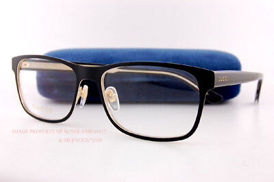 Brand New GUCCI Eyeglass Frames GG 0317/O  001 Black For Men Women