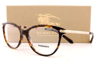 Brand New BURBERRY Eyeglass Frames BE 2280 3002 Havana/Gold For Women Size (Eyeglass Frames Burberry)