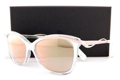 Brand New Christian Dior Sunglasses Dior Metaleyes 2 0HPR 00 White Crystal Women